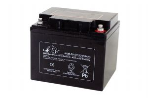 Leoch AGM-50-EV - 12V 50Ah AGM Electric Vehicle Battery